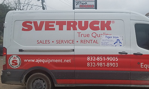 Truck Decals and Installation for Sale by Pro Signs Houston